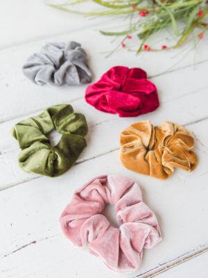 Velvet Scrunchies Stocking Stuffers